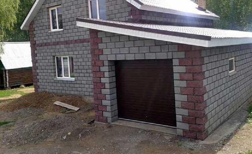 Как построить гараж на даче своими руками