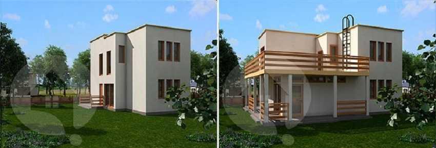 Проект дома на вырост