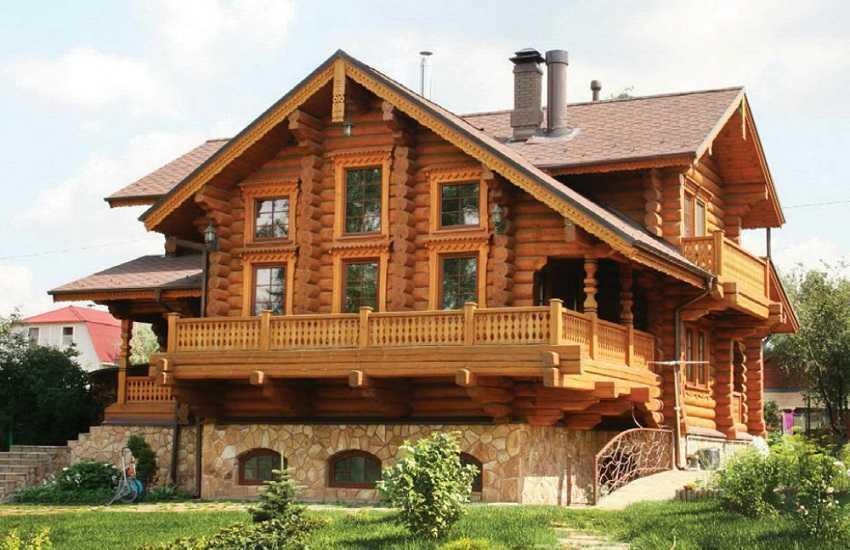 Русский стиль дома