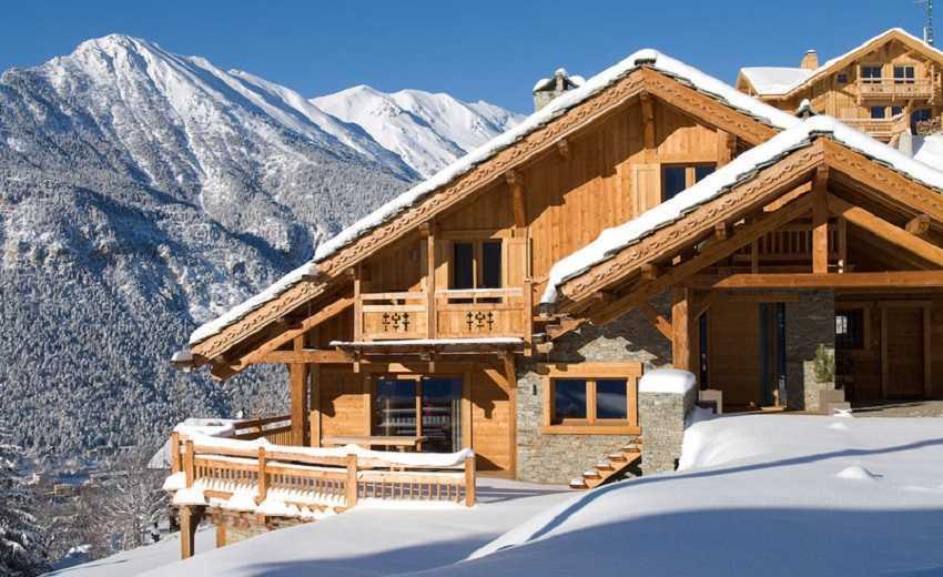 Стиль дома Альпийское шале