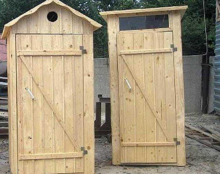 Формы и размеры туалетной кабины
