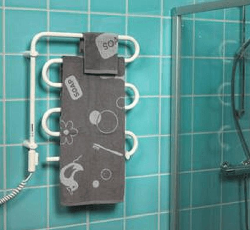 Подготовка и монтаж полотенцесушителя ‒ Электрический полотенцесушитель