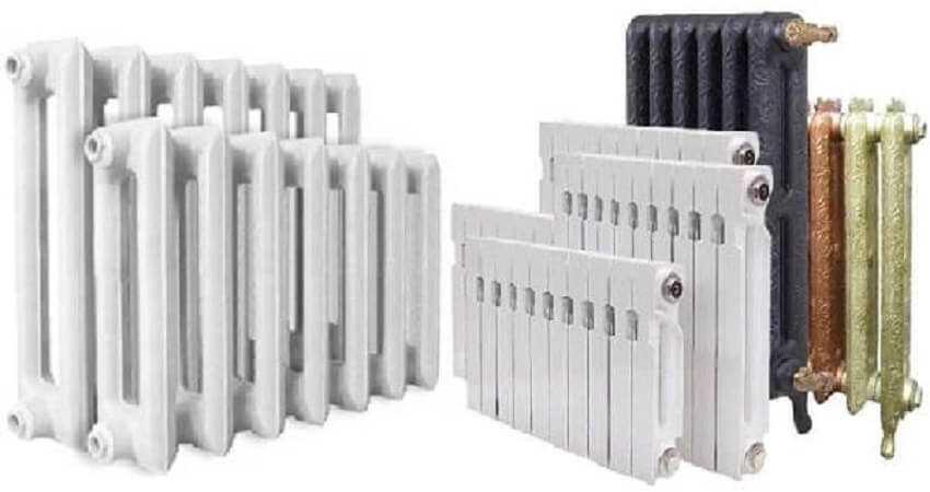 Новые чугунные радиаторы отопления
