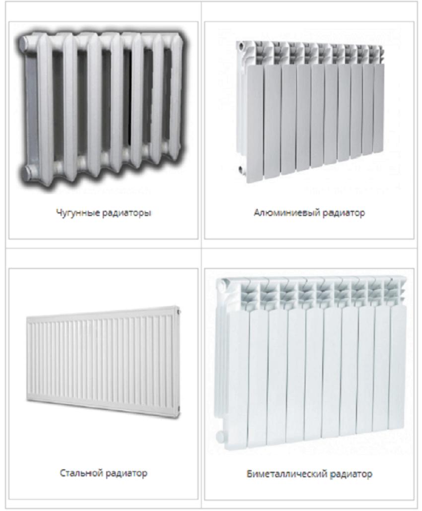 Радиаторы системы отопления в квартире