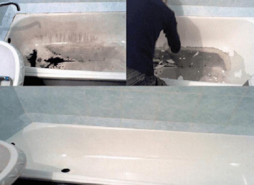 Реставрация чугунной ванны самостоятельно