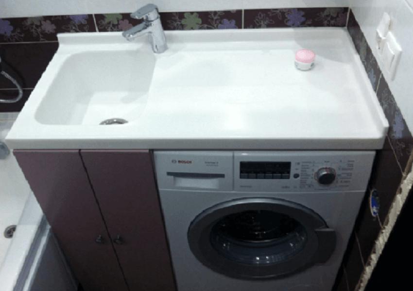 Размещение сантехники - Установка стиральной машины