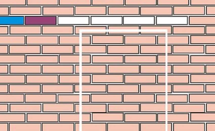 Разметка стены для проема