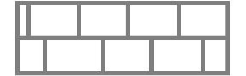 Схема укладки листа пенопласта