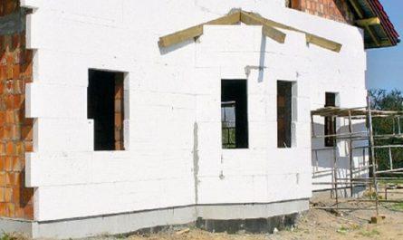 Утепления стен пенопластом снаружи дома