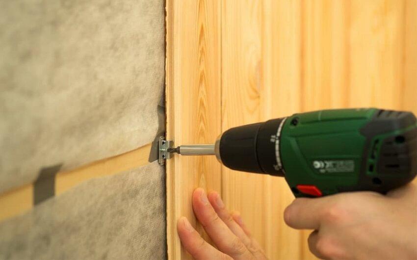 Утепление стен изнутри в деревянном доме - Монтаж вагонки