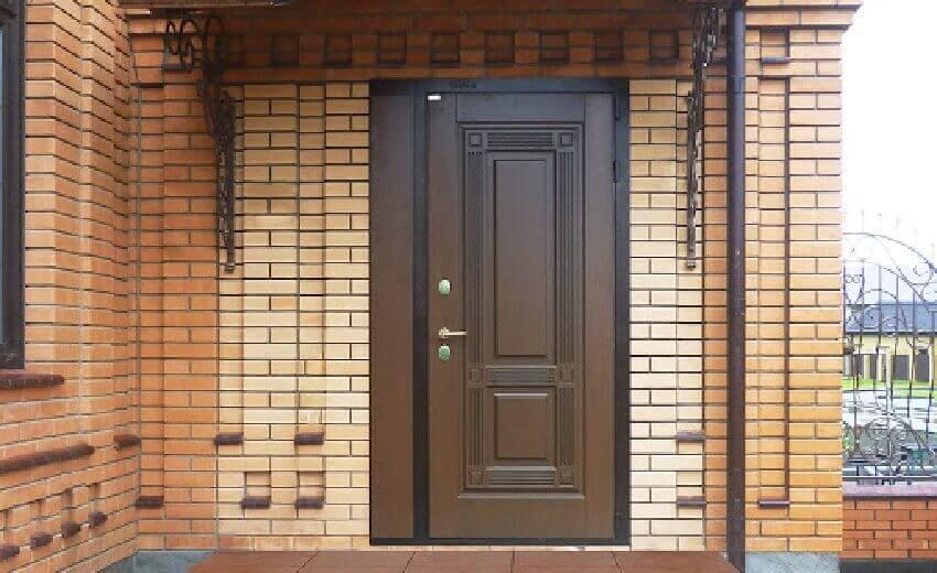Входная дверь установка