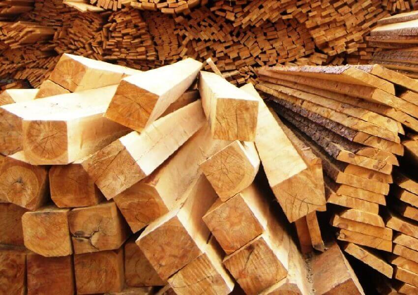 Хвойная древесина для крыши дома