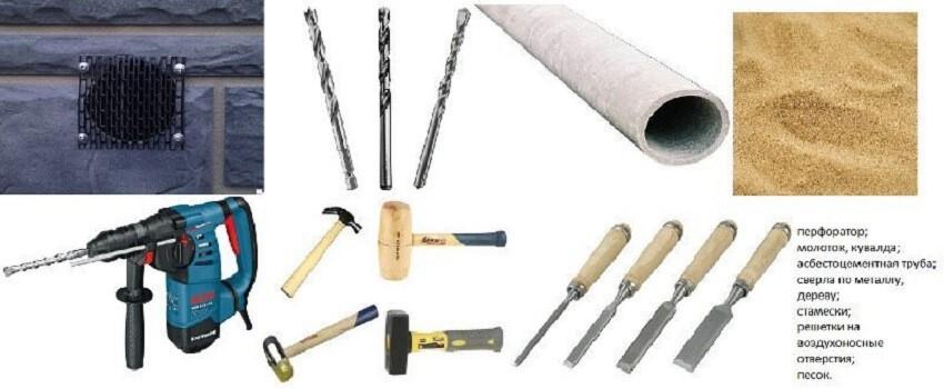 Продухи в фундаменте деревянного дома – Инструменты для оборудования отдушин