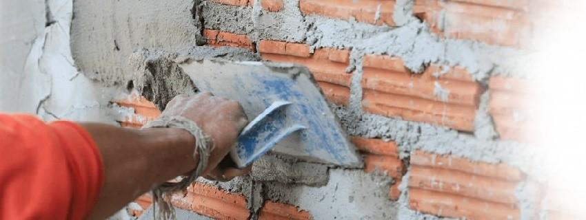 Оштукатуривание стен и потолка