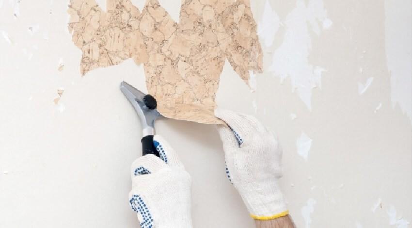Зачем грунтовать стену после старых обоев