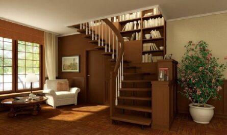 Деревянные винтовые лестницы на второй этаж