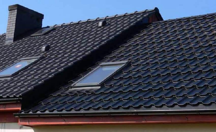 Как смонтировать крышу из металлочерепицы