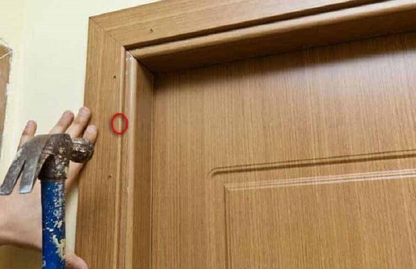 Установка наличников на межкомнатные двери – Монтаж наличника