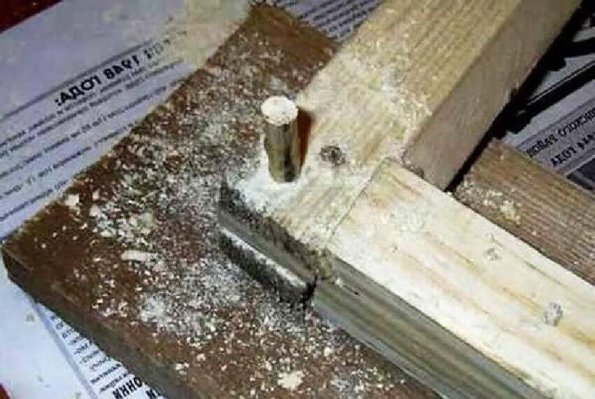 Реставрация деревянных окон ‒ Сборка угла