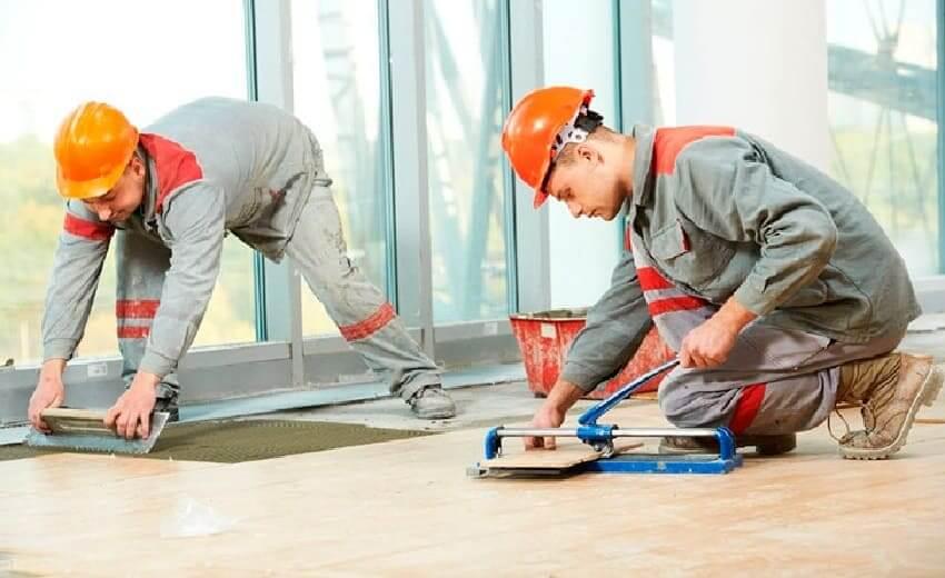 Строительные, отделочные работы