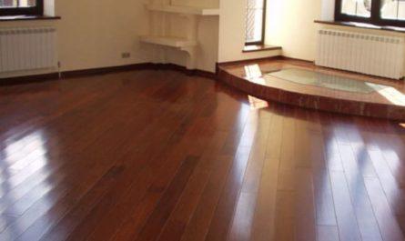 Как обновить деревянный пол без шлифовки