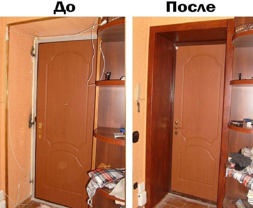 Оформление дверного проема