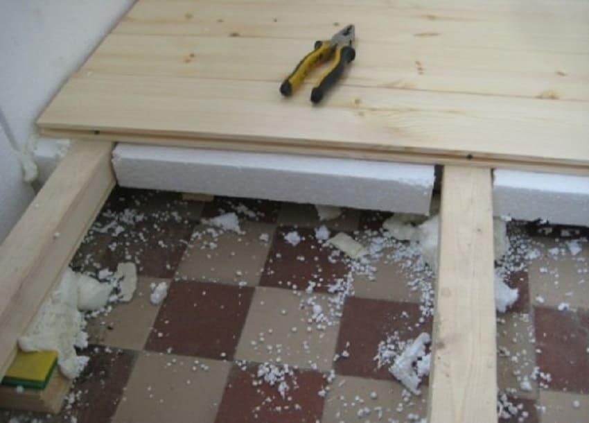 Как утеплить бетонный пол – Обустройство фальшпола