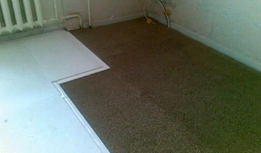 Утепление бетонного пола экструдированным пенополиуретаном